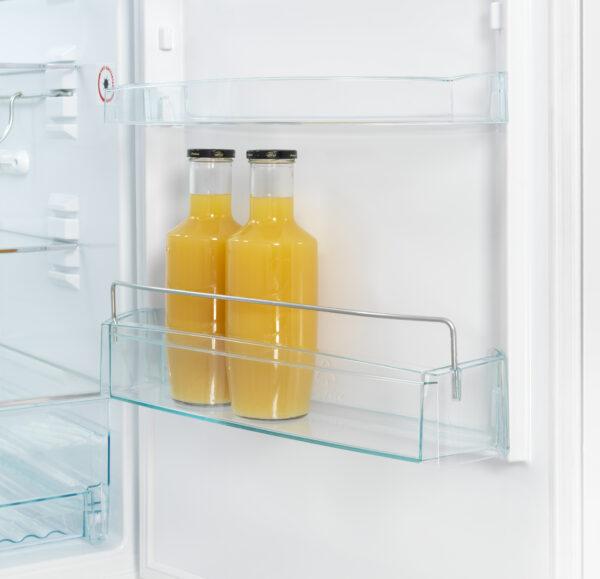 Spacious shelf for bottles